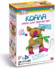 - Чудо-Тв. FABric animals™ Сшей игрушку Коала арт. 00778 обложка книги