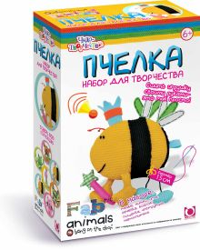 - Чудо-Тв. FABric animals™ Сшей игрушку Пчелка арт. 00738 обложка книги