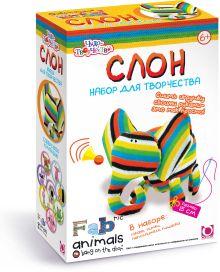 - Чудо-Тв. FABric animals™ Сшей игрушку Слоник арт. 00780 обложка книги