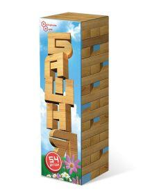 - Башня 54 дет. в картонной коробке (дерево) арт.ДНИ 119 обложка книги