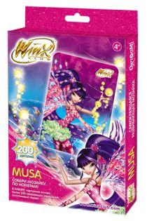 - Чудо-Тв. Winx™ Мозаика  -сингл Muza арт.00604 обложка книги