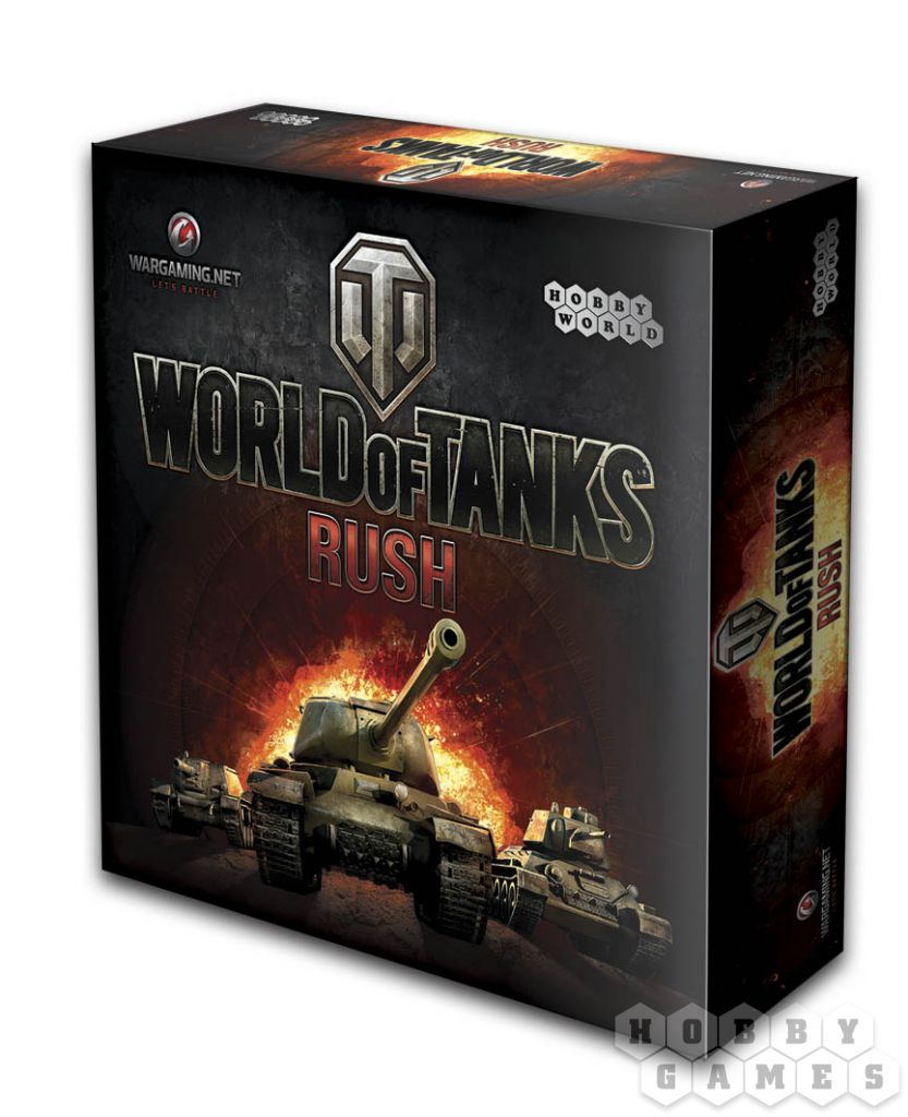 Наст.игр.:МХ.World of Tanks Rush (2-е рус. изд.), арт.1341