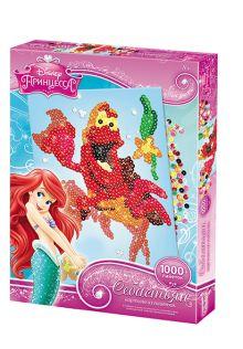 - Чудо-Тв. Disney Princess™ Картинка из пайеток Себастьян 30*39 см. арт. 01487 обложка книги
