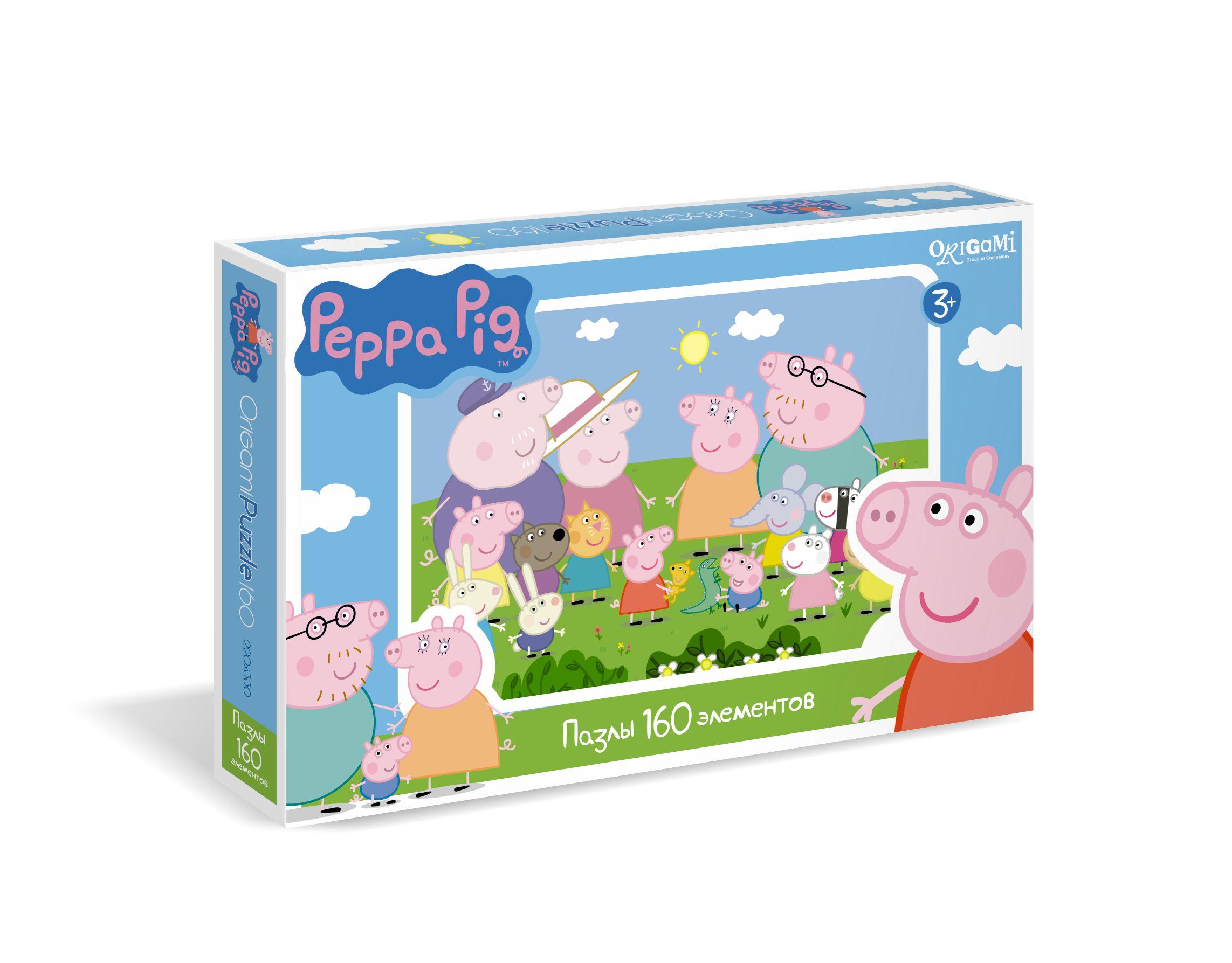 Peppa Pig.Пазл.160A.01543