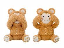 - I.C.Peek-a-boo Игрушка-повторюшка Медвежонок, играет в Ку-ку, закрывает глазки, смеется, арт.01732 обложка книги