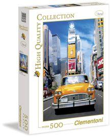 - CLem.Пазл.  500эл.HQ.30338 Такси на Таймс-сквер обложка книги