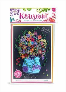 - Чудо-Тв. Набор для квиллинга «Полевые цветы».   21,5*36 см. Арт. 02224 обложка книги