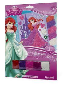 - Чудо-Тв. Disney Princess™. Аппликация из песка Ариэль в замке. 21*30 см.  Арт. 02269 обложка книги