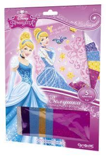 - Чудо-Тв. Disney Princess™. Аппликация из фольги Золушка на балу. 21*30 см.  Арт. 02252 обложка книги