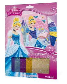 - Чудо-Тв. Disney Princess™. Аппликация из фольги Золушка в замке. 21*30 см.  Арт. 02255 обложка книги