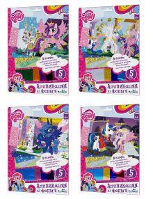 - Чудо-Тв. My little pony™. Аппликация из фольги Пони 4 вида в асс-те.  21*30 см.  Арт. 02389 обложка книги