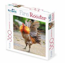 - Пазл 360А.FireRooster Бойцовый петух.02628 обложка книги