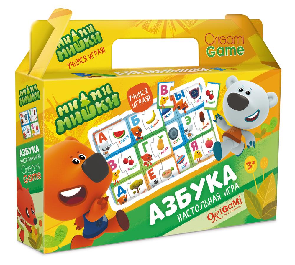 Настольная игра МиМиМишки в чемодане. Азбука