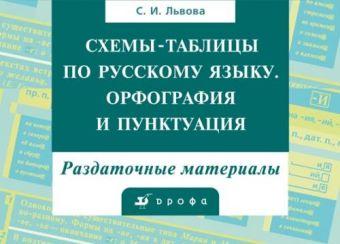Схемы-табл.по рус.яз.(18табл.и мет.рек)в конверте Львова С.И.
