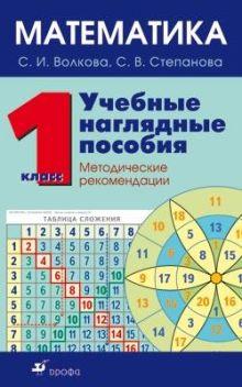 Волкова С.И., Степанова С.В. - Математика 1кл.Метод.рек.к компл.нагл.пособий. обложка книги