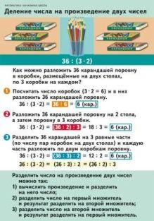 Волкова С.И. - Математика. 2–4 классы. Деление числа на произведение двух чисел/Нахождение нескольких долей целого. Нахождение целого по его долям обложка книги
