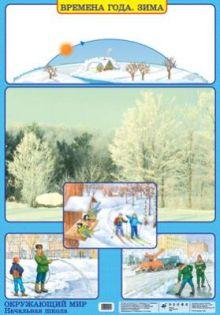 Плешаков А.А., Яременко Е.О. - Окружающий мир. 1–4 классы. Времена года. Зима/Сообщества. Лес обложка книги