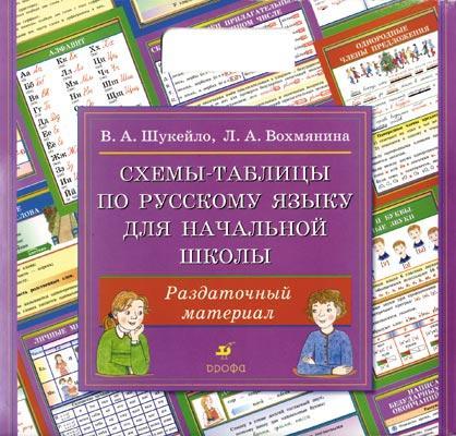 Схемы-табл.по рус.яз.для нач.школы(двухсторонние от book24.ru