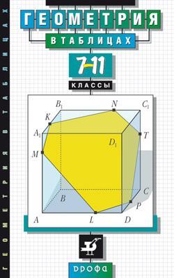 Геометрия в таблицах.7-11кл. Справ.пособие (Звавич) Звавич Л.И., Рязановский А.Р.