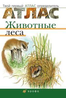Бровкина Е.Т., Сонин Н.И - Животные леса.Твой первый атлас-определ. обложка книги