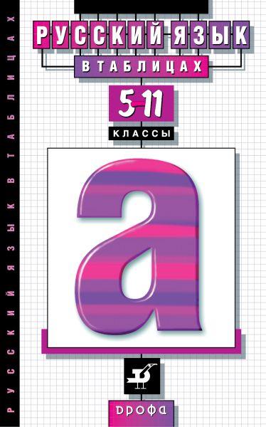 Русский язык в таблицах. 5–11 классы. Наглядное пособие