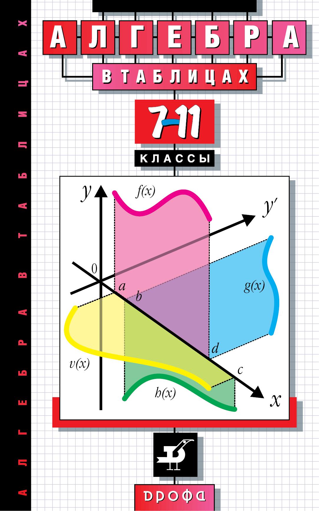 Алгебра в таблицах. 7–11 классы. Справочное пособие