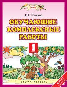 Калинина О.Б. - Обучающие комплексные работы. 1 класс обложка книги