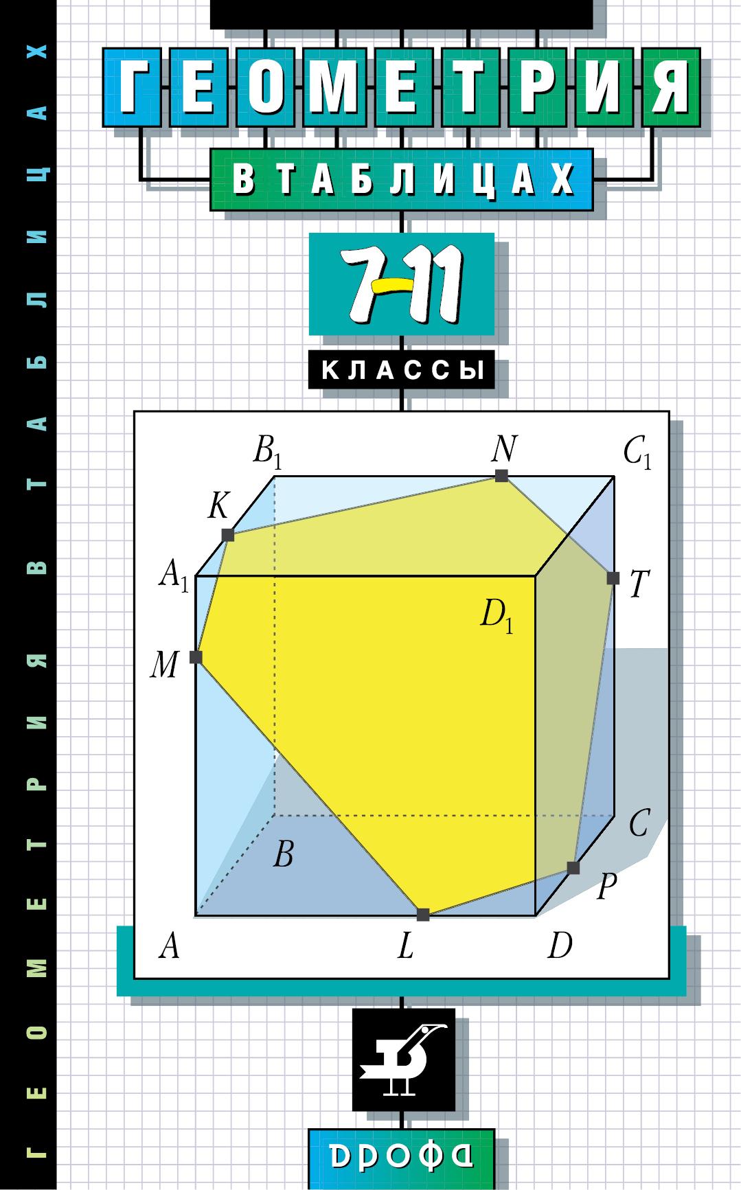 Геометрия в таблицах.7-11кл. Справ.пособие (Звавич)