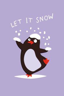 Обложка Let it snow (Софт-тач тетрадь)