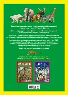 Обложка сзади Животные. Визуальная энциклопедия Том Джексон