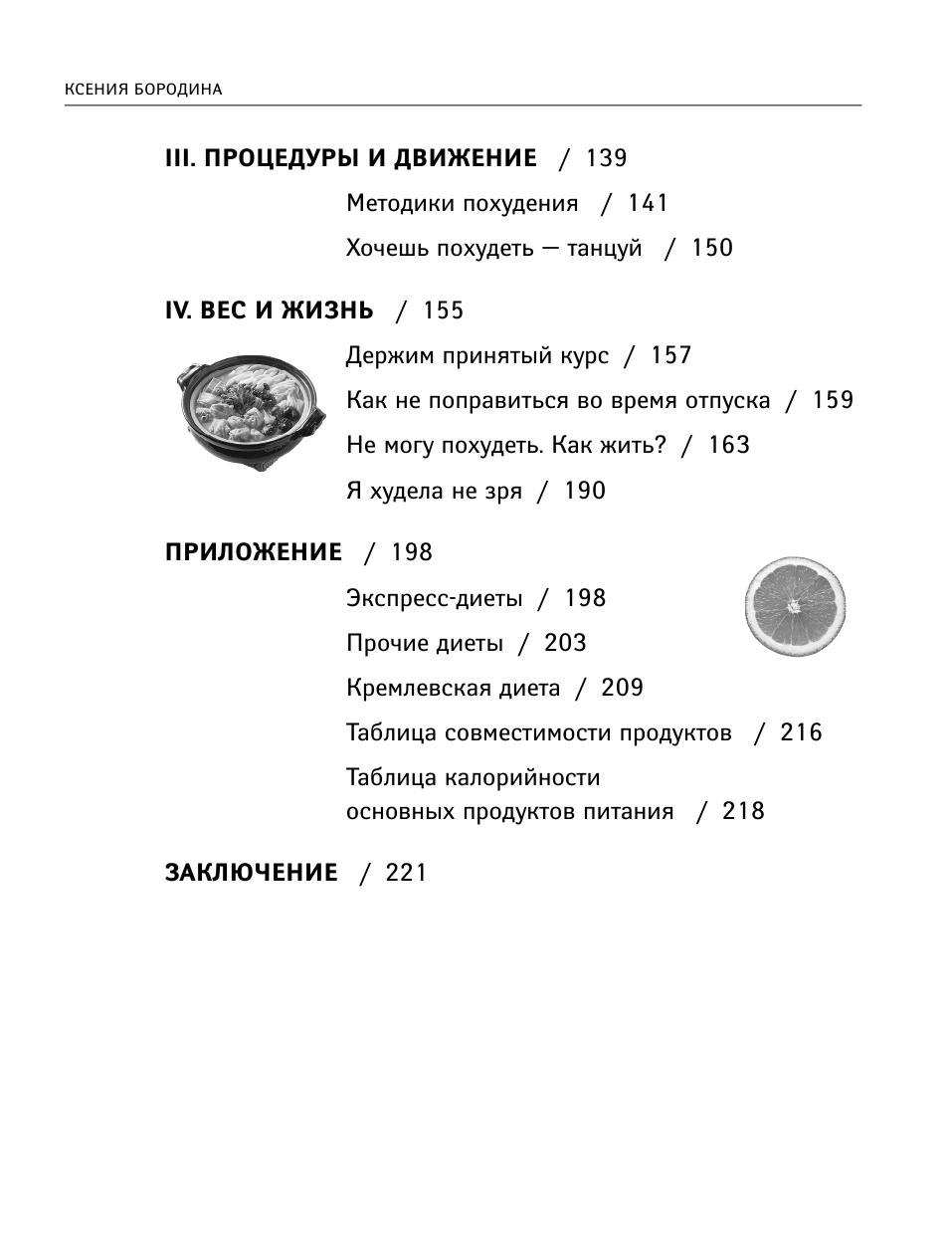 Похудение Методика Бородиной. Мифы и правда о похудении Ксении Бородиной
