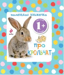- 1+ Маленькая книжечка про крольчат обложка книги