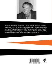 Обложка сзади Две сестры и Кандинский Владимир Маканин