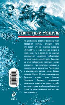 Обложка сзади Секретный модуль Валерий Рощин