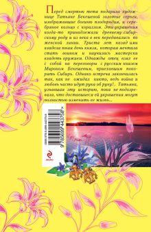 Обложка сзади Фамильный оберег. Закат цвета фламинго Ирина Мельникова