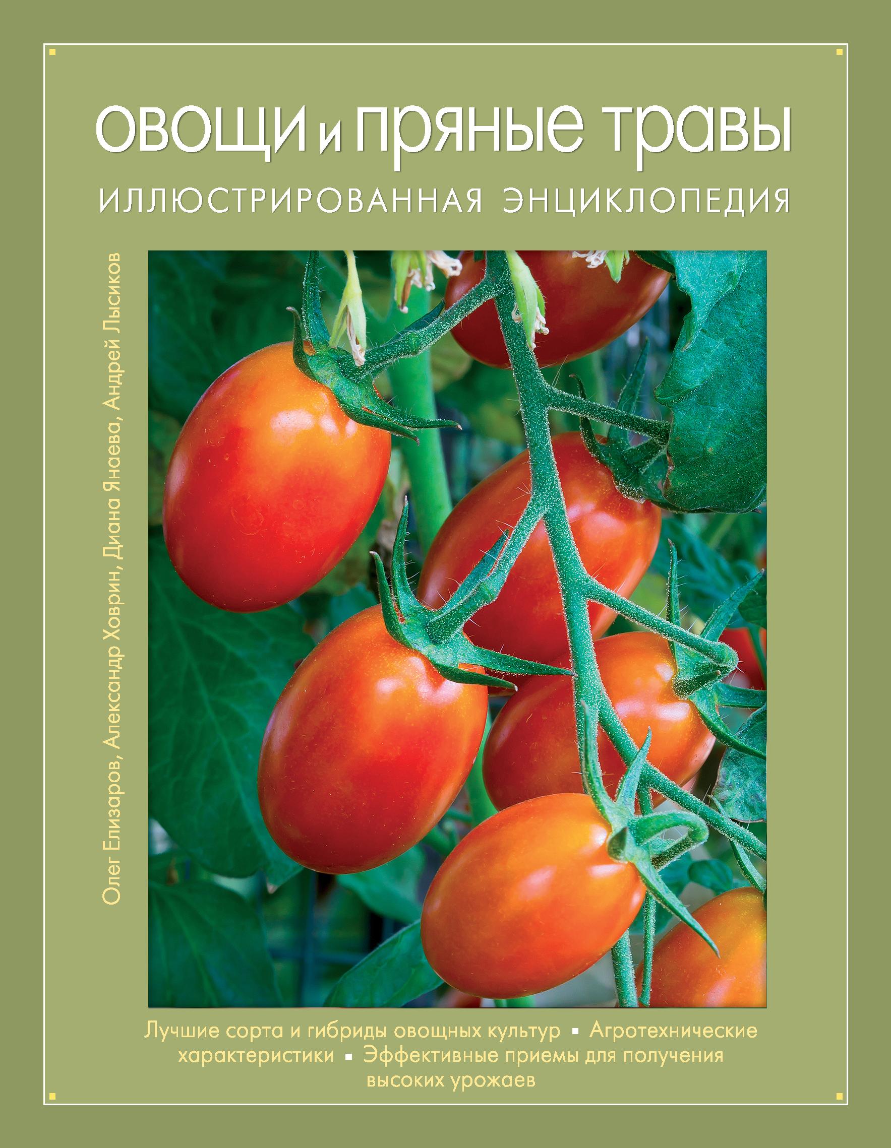 Овощи и пряные травы. Иллюстрированная энциклопедия (Книга для цветовода)
