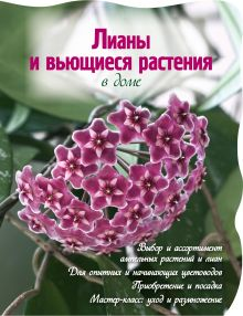 - Лианы и вьющиеся растения в доме (Вырубка. Цветы в саду и на окне (обложка)) обложка книги