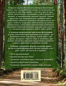 Обложка сзади Грибы. Атлас-определитель Ильина Т.А.