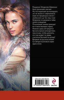 Обложка сзади Богиня по крови Ф.К. Каст