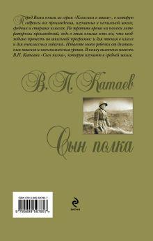 Обложка сзади Сын полка В.П. Катаев