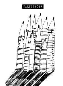 Парфенова Т.В. - Блокнот для записей «12 карандашей» обложка книги