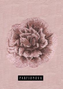 Блокнот для записей «Цветок мальвы»