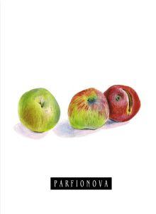 Блокнот для записей «Яблоки»