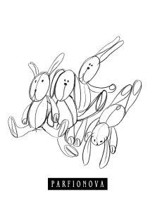 Парфенова Т.В. - Блокнот для записей «Игрушки. Зайцы» обложка книги