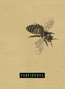 Блокнот для записей «Одинокая пчела»