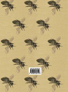 Обложка сзади Блокнот для записей «Рой пчел»