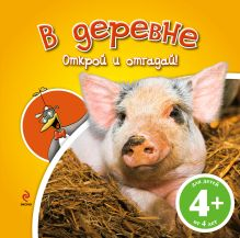 - 4+ В деревне (книга с клапанами) обложка книги