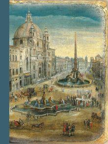 Обложка Рим (блокнот), Площадь Навона.