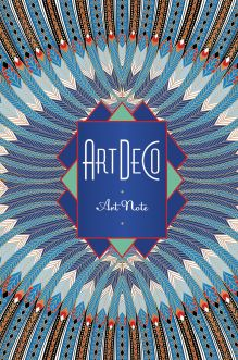 Art Deco. ArtNote (синяя)