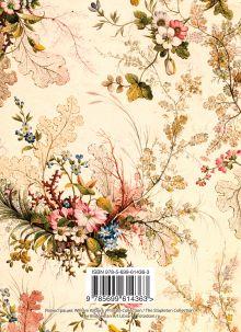Обложка сзади Блокнот А6. Винтажные цветы